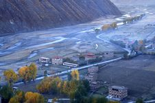 Tibet Morning Royalty Free Stock Photography