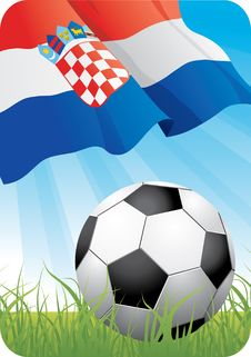 European Soccer Championship 2008 - Croatia Stock Photography