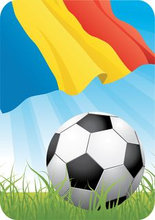 European Soccer Championship 2008 - Romania Royalty Free Stock Photos