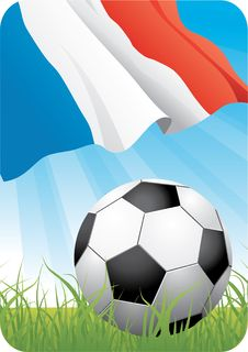 Free European Soccer Championship 2008 - France Stock Image - 5347691