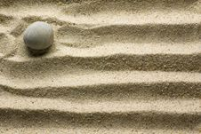 Free Sand Pattern Royalty Free Stock Photo - 5348445