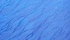 Free Blue Wave Texture Royalty Free Stock Image - 5349146