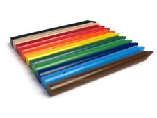 Free All Colors Crayons Royalty Free Stock Photography - 5349277