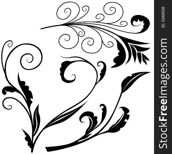 Floral elements H