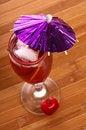 Free Cherry Drink Royalty Free Stock Photos - 5350088