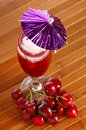 Free Cherry Drink Royalty Free Stock Photography - 5350117