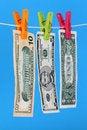 Free Money Laundry Stock Photography - 5355282