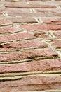 Free Aged Red Brick Wall Royalty Free Stock Photo - 5358745