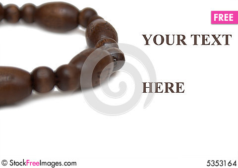 Free Wooden Bracelet Stock Images - 5353164
