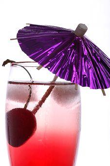 Free Cherry Drink Stock Photos - 5350033