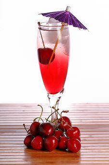 Free Cherry Drink Stock Photo - 5350110