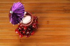 Free Cherry Drink Royalty Free Stock Photos - 5350148