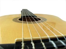Free Acoustic Classic Guitar Royalty Free Stock Images - 5350349