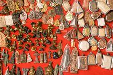 Buddhist Amulets Stock Images