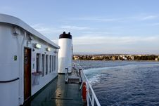 Free On A Ferry Royalty Free Stock Image - 5350916