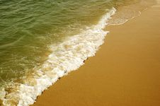 Free Beach Wave Stock Photography - 5351892