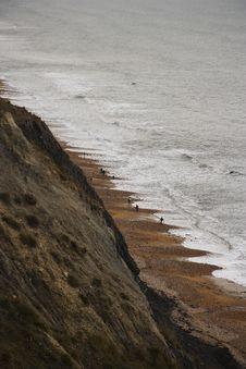 Free Jurassic Coast Royalty Free Stock Image - 5351926