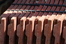 Free Pile Of Roof Tiles Royalty Free Stock Photos - 5352018