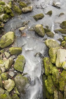 Free Abstract Streaming Water Royalty Free Stock Images - 5353139