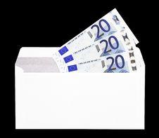 Free Money Gift In Envelope Royalty Free Stock Photo - 5353185