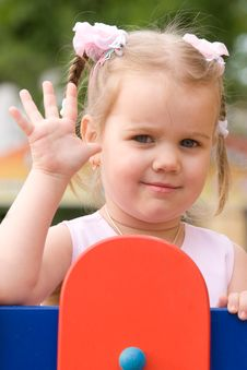 Free Happy Little Girl Stock Photo - 5354130