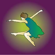Free The Dancing Jump Stock Photos - 5354173