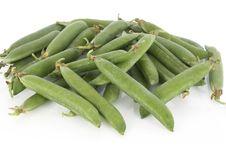 Free Fresh Green Peas Stock Image - 5354751