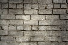 Free Aged Brick Wall Stock Images - 5354804