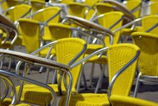 Free Chairs In Lines Stock Photos - 5354943