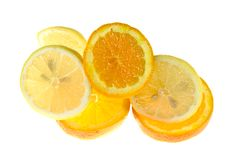 Free Lemons And Oranges Royalty Free Stock Photography - 5354957