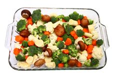 Free Baking Dish Of Veggies Stock Photo - 5355090