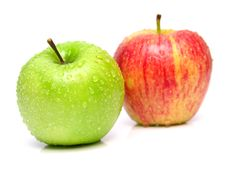 Free Ripe Juicy Apples 3 Stock Photography - 5355612