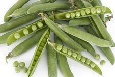 Free Fresh Green Peas Stock Photos - 5356073