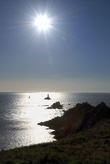 Free Britanny Rocks Sunset Stock Photo - 5356600
