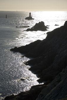 Free Britanny Rocks Sunset Stock Image - 5356631