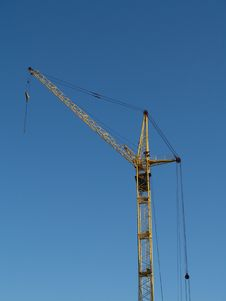 Free Elevating Crane Stock Photography - 5356772