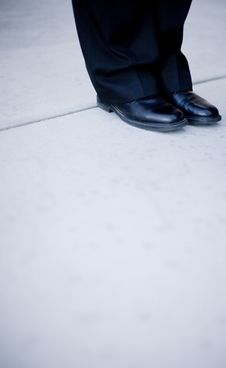 Free Business Feet Stock Image - 5356891