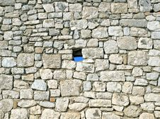 Hole In The Stone Royalty Free Stock Images