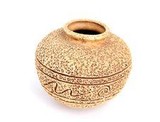 Old Ceramic Vase Royalty Free Stock Images