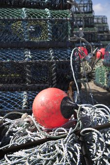 Free Lobster Pots Stock Photos - 5357893