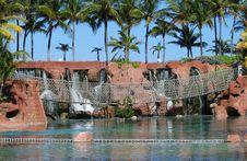 Free Hanging Bridge Royalty Free Stock Photo - 5357995