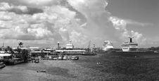 Free Nassau Town Port Stock Image - 5358011
