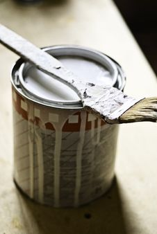 Free Paint And Brush Stock Photos - 5358063
