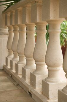 Free Upscale Patio S Luxurious Pillar Railing Stock Photo - 5358110