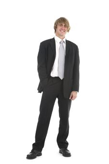 Portrait Of A Young Businessman Stock Photos