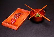 Free Chopstick Royalty Free Stock Photo - 5358255