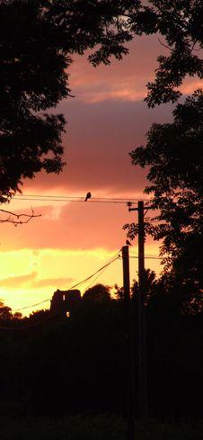 Free Castle Sunset 3 Stock Photos - 5358433
