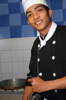 Free Chef At Work Stock Images - 5358544