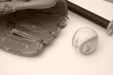 Free Vintage Baseball Royalty Free Stock Images - 5358589