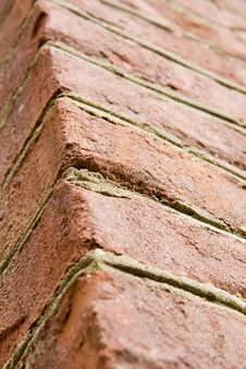 Free Aged Red Brick Wall Royalty Free Stock Images - 5358749